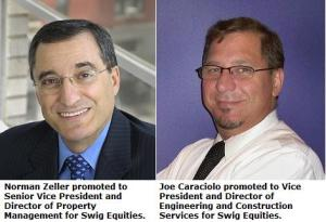 Joe Caraciolo and Norman Zeller Swig Equities Promotions