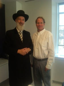Kent M Swig meets the Chief Rabbi of Israel