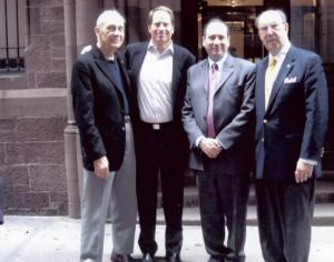 Sydney Mobell, Kent Swig ,David Cowen and John Herzog