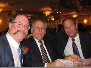 David Sargoy, Ken Magida and Kent M. Swig at the Sharing & Caring Dinner