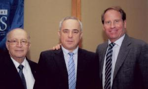 Kent M.Swig with Finance Minister of Israel and Joshua Matza, president and CEO of Israel Bonds