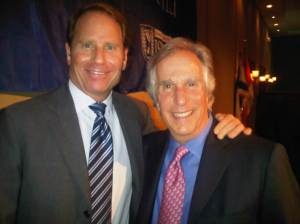 Kent M Swig with Henry Winkler at the National Board of Directors meeting of Israel Bonds