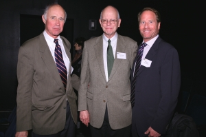 Muncipal Arts Society - Kent Barwick, MAS Board of Directors; David Childs, Chairman of the MAS Board of Directors; and Kent Swig, President of Swig Equities