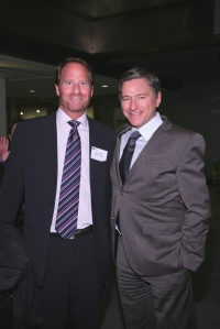 Municipal Arts Society - Kent Swig, President of Swig Equities; Vin Cipolla, President of the MAS Board of Directors
