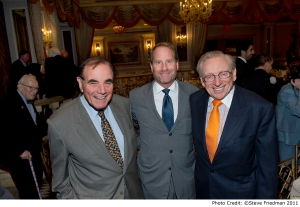 Kent Swig with Larry Silverstein & Arnold Penner Israel Bonds Luncheon