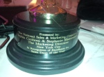 The base of National Association of Home Builders Award