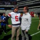 From left to right: Steve W., Punter for the NY Giants and Kent Swig