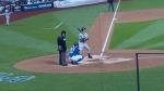 NY Yankees Jeter at bat