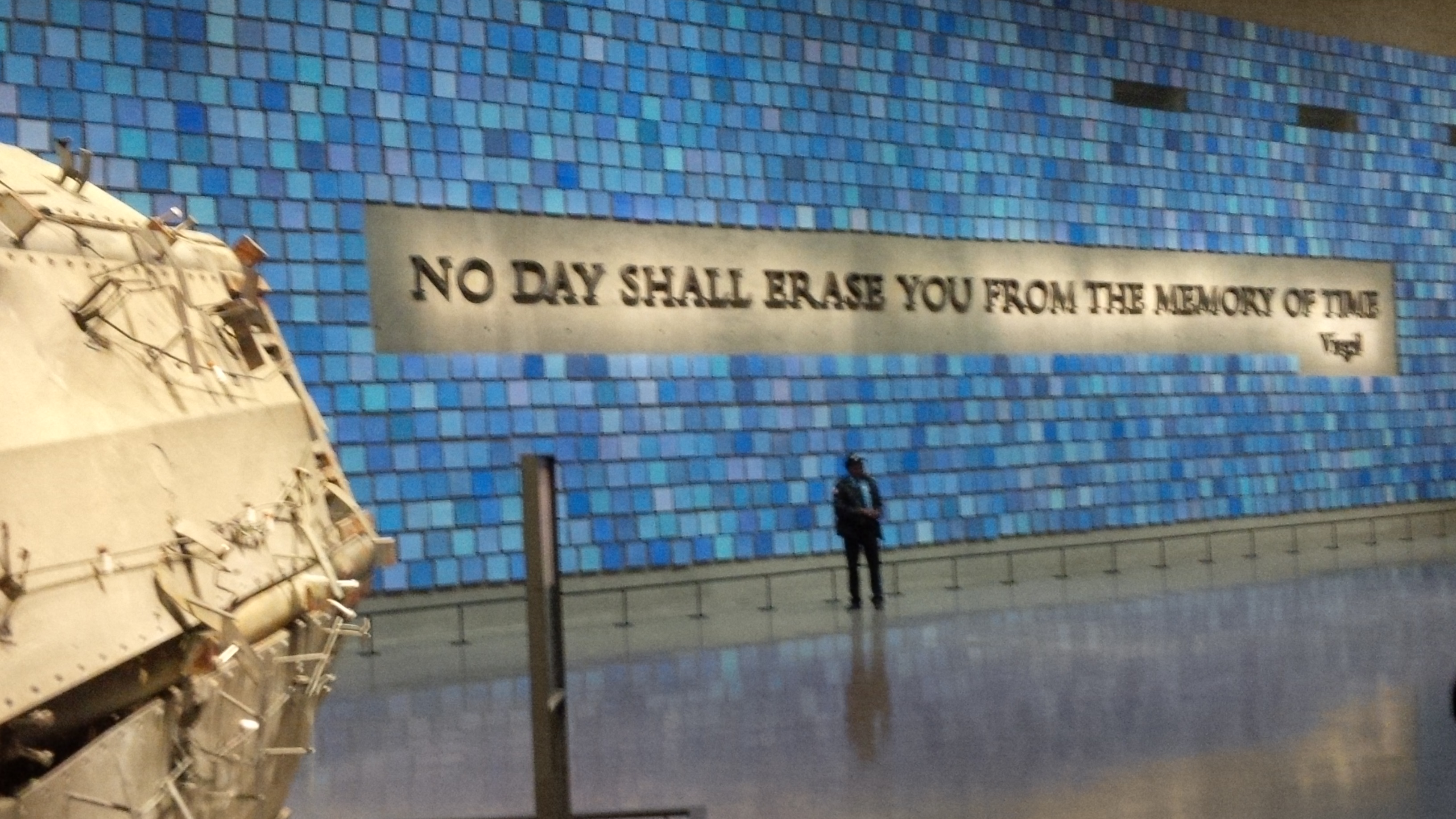 September 11th quotes quotes about september 11th sayings about - Quote From Virgil In The Book The Odyssey Surrounded By 2983 Pieces Of Blue Tinted Paper