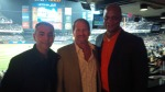From left to right: John Franco, former NY Mets, Kent Swig, Daryl Strawberry, former NY Mets