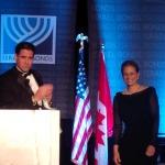Ambassador Ron Dermer and Mrs. Rhoda Dermer