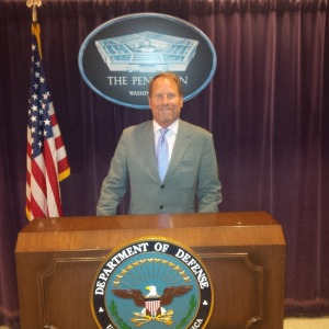 Kent Swig at the Pentagon in Washington, D.C.