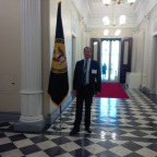 Kent Swig in the Eisenhower Executive Office Building at The White House