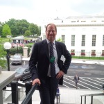 Kent Swig overlooking the  The White House