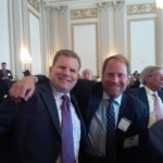 Kent Swig with Representative Dan Maffei, Democrat from New York