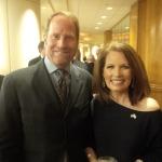 Kent Swig with Representative Michelle Backman of Minnesota