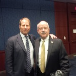 Kent Swig with Terry Gains, immediate past (38th)  Sargent of Arms of the House of Representatives.