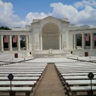 The stage at the Amphitheater at Arlington National Cemetery