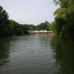 The Boat Pond in Central Park.