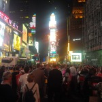 There is nothing like Times Square on a beautiful summer night.