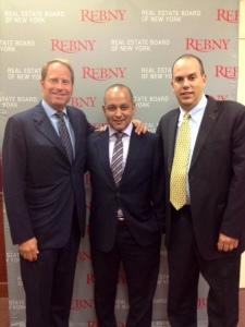 Left to right: Kent Swig; Michael Vargas, Director of Vanderbilt Appraisal (a Terra Holdings company); Greg Heym, Chief Economist for Terra Holdings.