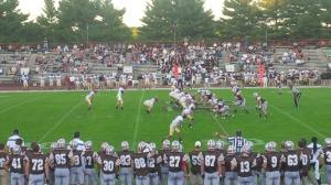 The Brown-Harvard football game