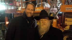 Kent Swig with Rabbi Shmuel Butman.